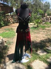 Tribal Fusion Belly Dance Costume Da Ballo  #ebaydonaperte