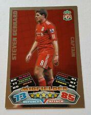 Match Attax Premier League 2011/2012 Steven Gerrard - Liverpool - Captain