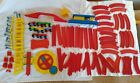 Vintage 1970s Plastic Train Set Mettoy Playcraft Railway Track Trains Carriages