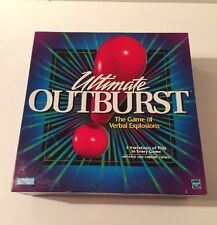Ultimate Outburst Games by Parker Brothers - 1999 Edition - Nice Condition!