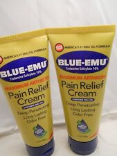 BLUE-EMU MAXIMUM ARTHRITIS PAIN RELIEF CREAM 3.OZ EA (2PK BUNDLE)  EXP 2019