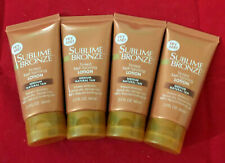 4 Pack L'Oreal Sublime Bronze Tinted Self-Tanning Lotion Medium Natural Tan 2 oz