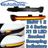 Sweeping Dynamic LED Wing Mirror Indicator Light BMW 1 2 3 4 Series F20 Smoked
