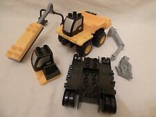 Mega Bloks Caterpillar Construction Vehicle  Parts Only -  Free Shipping