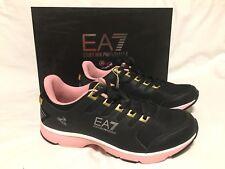 EA7 Armani C-Cube Ventus II Running Shoes Black Trainer Uk 9.5 Eu 44 Us 10 BNIB