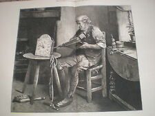 Doctoring Old Time by H B Roberts 1877 print ref W