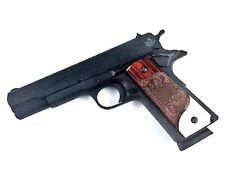 1911 Grips Full Size & Commander Colt S&W Solid Rosewood & Faux Ivory Best Aaaa