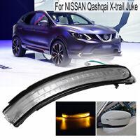 Droit LED Clignotant de Rétroviseur Clignotant Lampe Pour Nissan !