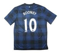 Manchester United 2013-14 Authentic Away Shirt Rooney #10 (Excellent) L