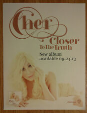 Music Print Cher - Closer To The Truth
