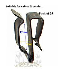 MOLLA Acciaio Cablaggio Telaio Clip confezione da 25 cc40