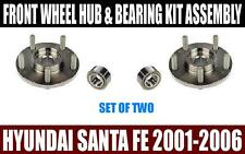 Front Wheel Hub & Bearing Kit For HYUNDAI SANTA FE 2001-2006 (PAIR)