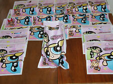 48 Powerpuff Girls Party Treat Loot Bags! Blossom Bubbles Buttercup Birthday