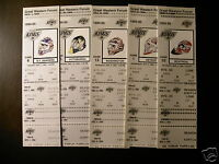 Los Angeles Kings 1994-95 NHL ticket stubs - One ticket - Masks