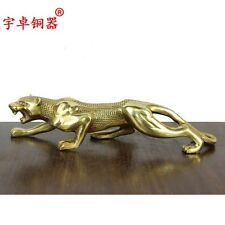 Pure copper the leopard Leopard copper handicrafts Home decoration office furnis