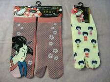 WOMEN'S TABI SOCKS NADESHIKO KOKESHI DESIGN JAPAN FREE SHIPPING!