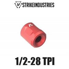 "Strike Industries Lightweight Barrel Thread Protector 1/2-28 TPI .70"" OD - Red"