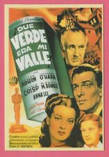 Spanish Pocket Calendar #300 How Green Was My Valley Film Poster Maureen O'Hara