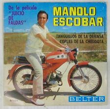 Pochette Moto 45 tours Manolo Escobar 1973