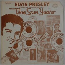 ELVIS PRESLEY: The Sun Years SUN RECORDS Interviews Memories LP