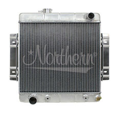 "205155 Northern Hot Rod Aluminum Radiator 50s 60s Cars 19 3/4""W x 20 1/4""H"