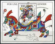 Allemagne 1996 SG#MS2708 pour les enfants américains utilisés m/s feuille #D41646