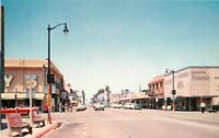 Autos 1950s Oceanside California Street Scene Royal Pictures postcard 6900