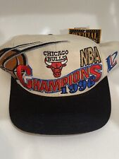 Chicago Bulls Vintage Snapback Championship Hat 1996 (NEW with tags)