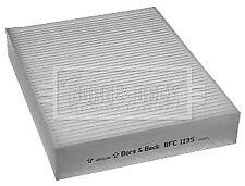 Pollen / Cabin Filter fits BMW 328 F30, F31, F34 2.0 11 to 16 B&B 64119237554