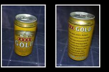 COLLECTABLE OLD AUSTRALIAN BEER CAN, CASTLEMAINE XXXX GOLD, GOOD AS GOLD 4