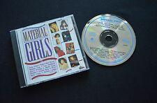 MATERIAL GIRLS RARE AUSTRALIAN COMPILATION CD! BELINDA CARLISLE PAULA ABDUL