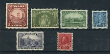 1930's lot  MNH Cat $170 Canada mint