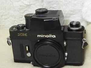 Minolta XM - Vintage SLR - WORKING CONDITION. with AE FINDER WORKING