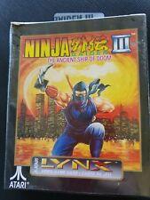 NINJA GAIDEN III Atari Lynx NEW DAMAGED BOX Factory Sealed PA2092