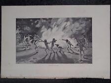 Navajo Dance of Nahikat Mountain Chant Healing Ceremony New Mexico 1887