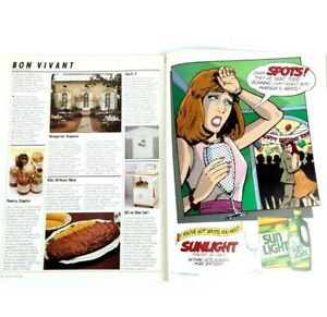 Bon Appetit America's Food & Entertaining Magazine May 1988 Special Spring Issue