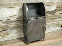 73cm Industrial Retro Metal Chest Of Drawers Bedside Storage Display Cabinet