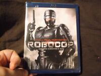 RoboCop NEW BLU-RAY Unrated Director's Cut Peter Weller Nancy Allen