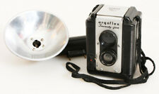 ART DECO TLR CAMERA WITH FLASH
