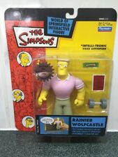 Rare The Simpsons Rainier Wolfcastle Interactive WOS Figure 2002