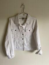 The 1964 Denim Company white denim jacket AUS size 10