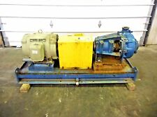 "RX-3643, METSO HM100 LHC-D 4"" x 3"" SLURRY PUMP W/ 40HP MOTOR AND FRAME"