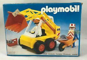 Playmobil 3507 Excavator Excavadora Mini Bagger Geobra klicky NEW SEALED BAG