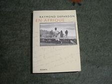 Raymond DEPARDON: En Afrique