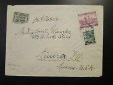 Bohemia Moravia 1940 Censor Airmail Clipper Cover to USA (II) - Z6516
