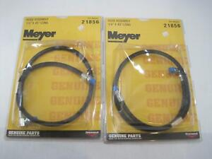 "New Lot of 2 Meyer 21856 Parts Hose Assembly 1/4"" x 45"" for Diamond Snowplow"