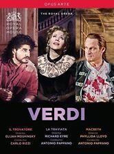 Verdi: Il Trovatore / La Traviata / Macbeth [New DVD]
