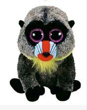 TY Beanie Boos - WASABI the Baboon (Glitter Eyes) (Medium 9 inch)