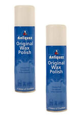 Pack of 2 Antiquax Original Wax Polish Spray 250ml Superior Polish with Beeswax