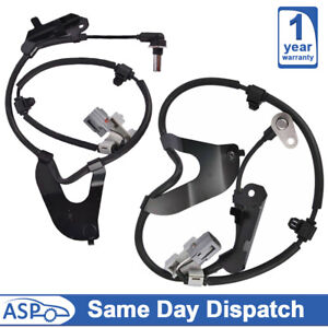 2X ABS SPEED SENSOR FOR Isuzu D-Max 2.5 Pick-Up (2012-ON) FRONT LEFT & RIGHT